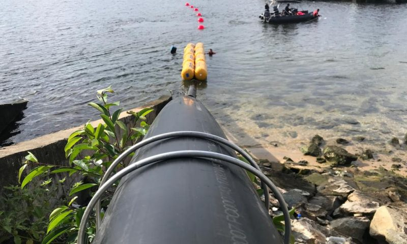 Submarine cable for Offshore Solar power and data