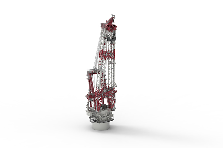 Liebherr Heavy Lift Crane 150000-3000 for Alfa Lift