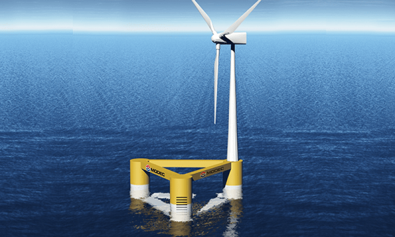 MODEC Launches R&D to Reduce Cost of Floating Offshore Wind Turbines