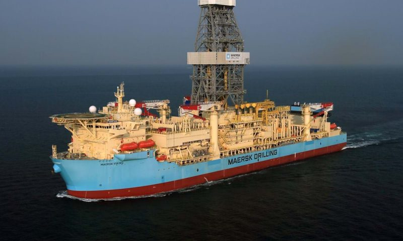 Maersk Drilling Maersk Viking in Brunei Darussalam