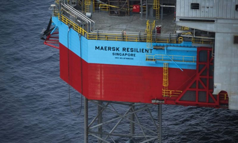 Maersk Drilling Maersk Resilient Drilling rig Petrogas