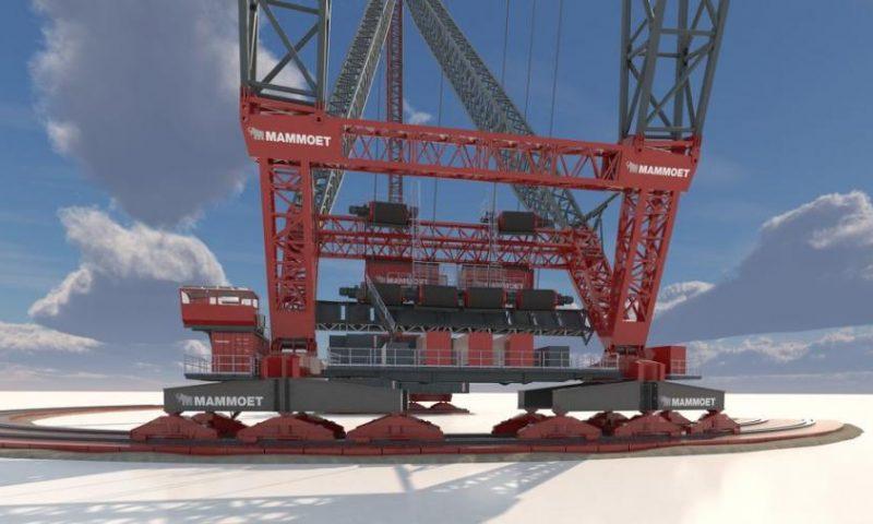 Mammoet Launches SK6,000 Crane