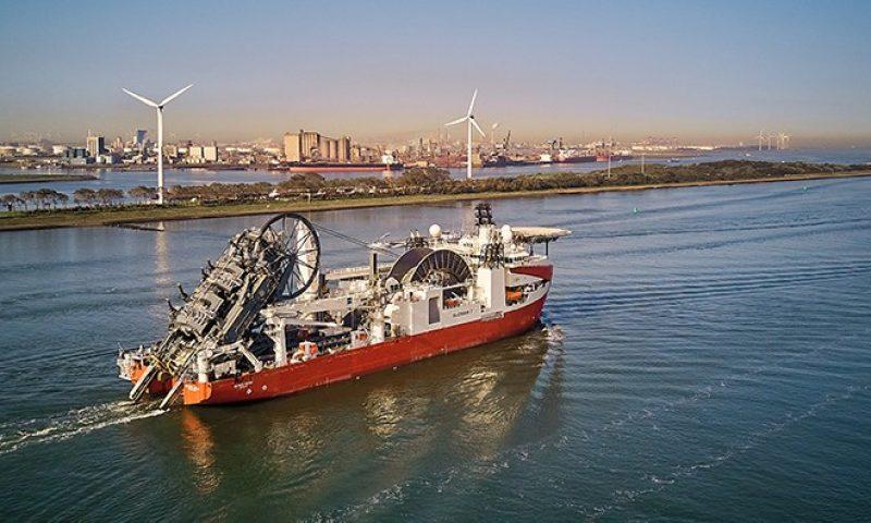 Newbuild Reel-lay Vessel Seven Vega subsea 7