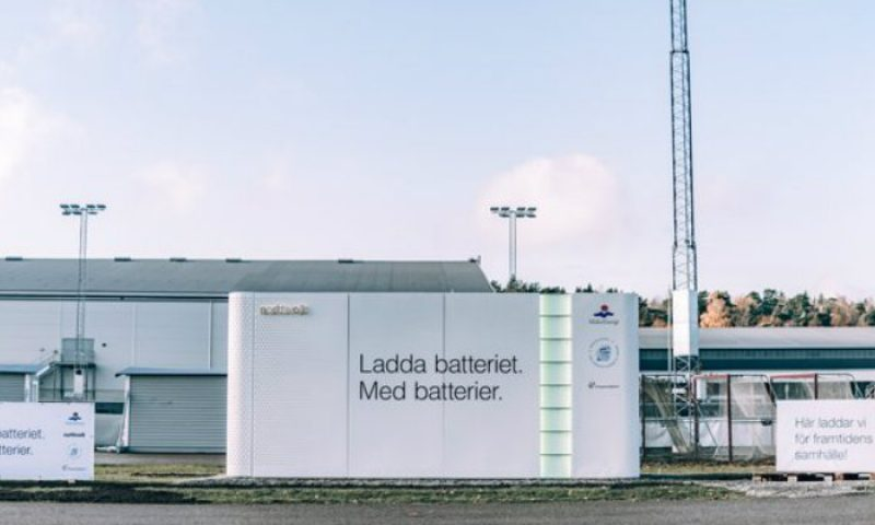 Northvolt Commissions its First Public Energy Storage System in Sweden