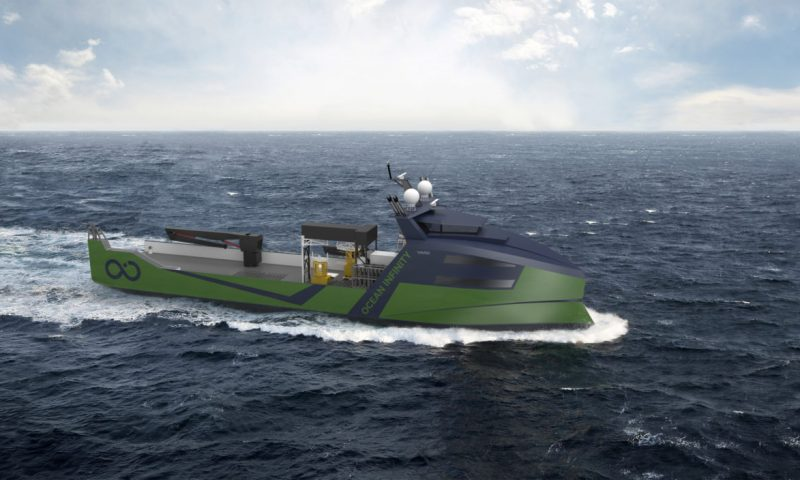 Ocean Infinity adds World's Largest Marine Robotic Vessel to its Armada Fleet