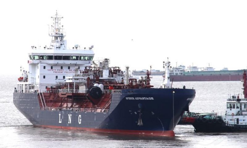MV Avenir Advantage PETRONAS Completes First LNG Bunkering Delivery