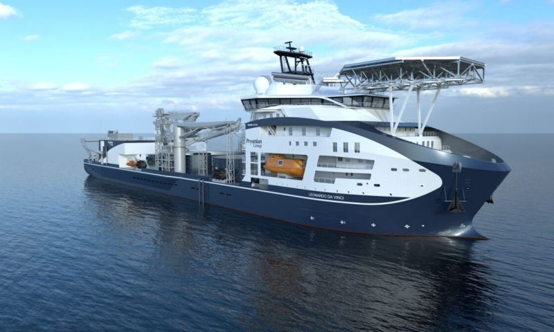 Leonardo da Vinci cable-laying vessel