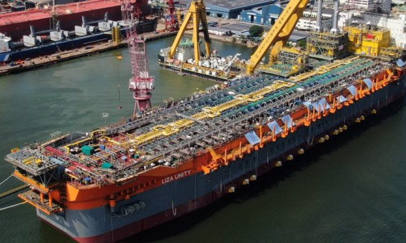 SBM Offshore´s FPSO Liza Unity Undocks and Starts Integration Phase