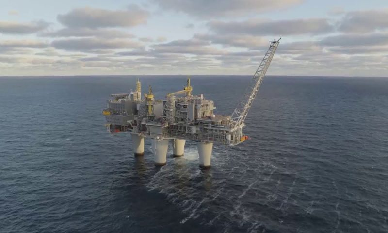 Sleipnir Installs 1300 Mt Process Module for Equinor