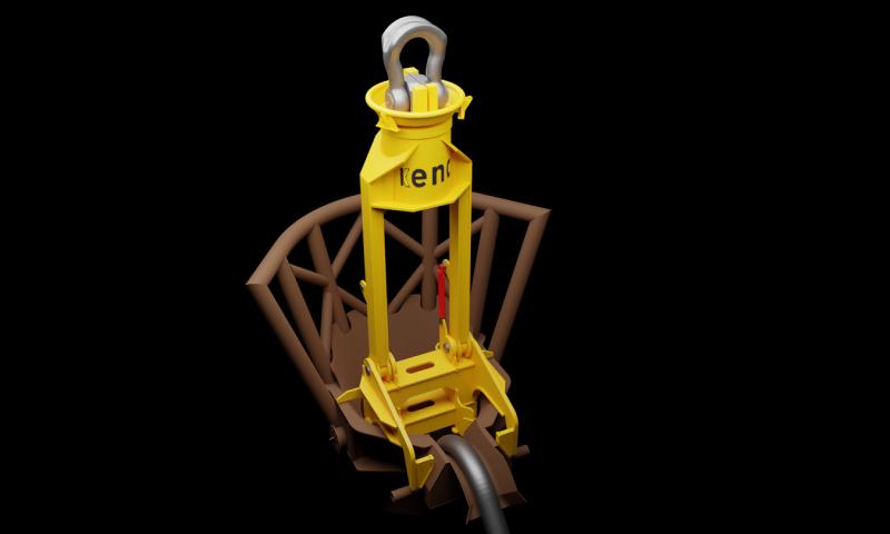 Pin Pile lifting tool KENC Engineering