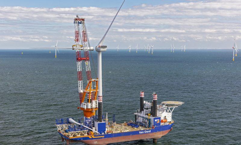 Aeolus Completes Turbine Installation at Borssele III & IV OWF