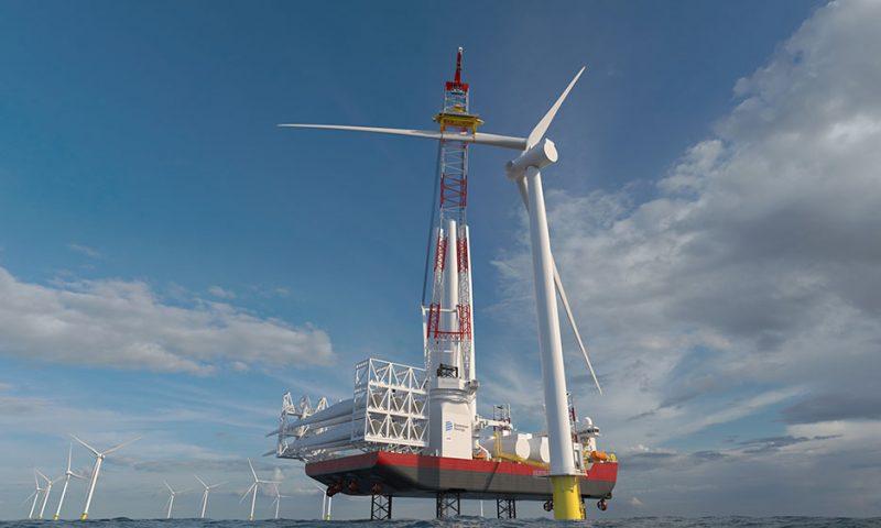 First Jones Act Compliant Offshore Wind Turbine Installation Vessel