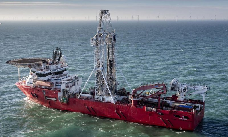 Fugro Bags Three Site Investigation Contracts for Ijnmuiden Ver OWF Zone