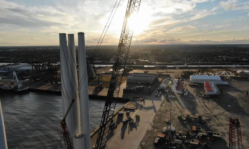Global Wind Service Awarded Fryslân Pre-assembly and Installation