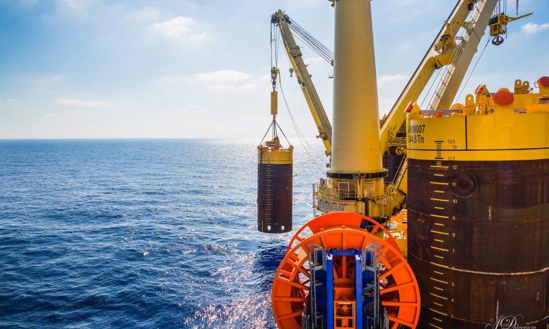 Jumbo Breaks its Deep-Water Record with Karish FPSO Mooring Installation