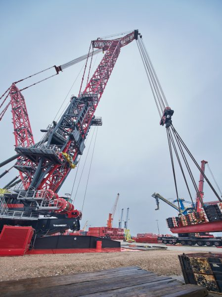 Mammoet´s FOCUS30 Crane Successfully Completes Testing Phase