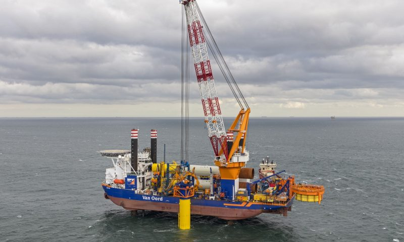 RWE Chooses Van Oord for Foundations and Array Cables at Sofia OWF