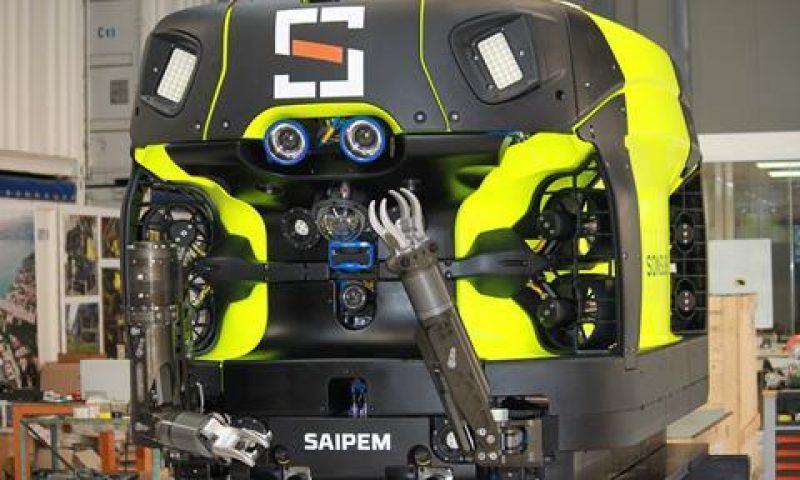 Saipem's Underwater Intervention Drone (UID) Hydrone-R