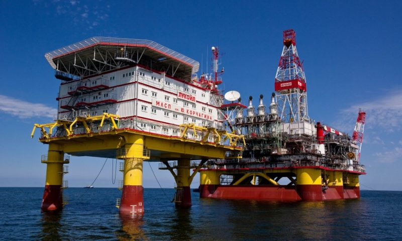THIRTY FIVE MILLION TONNES OF OIL PRODUCED AT LUKOIL'S NORTH CASPIAN FIELDS