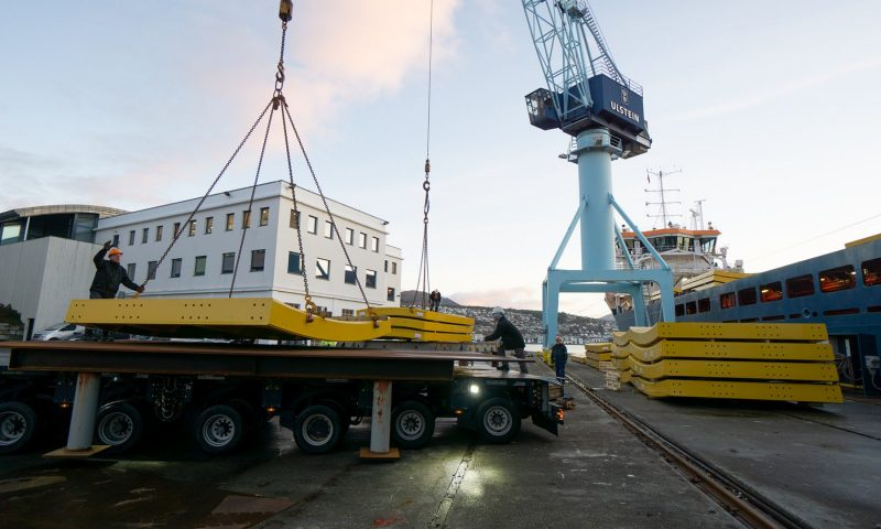 Ulstein Delivers Carousel for the CLV 'Nexans Aurora'