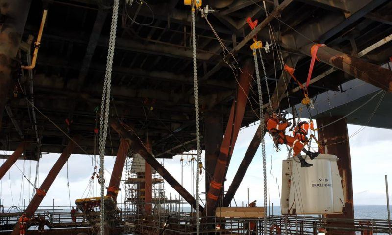 Pioneering Spirit to Remove Morecambe Bay Pair