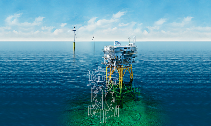 Ramboll's True Digital Twin Demonstrates its Offshore Potential