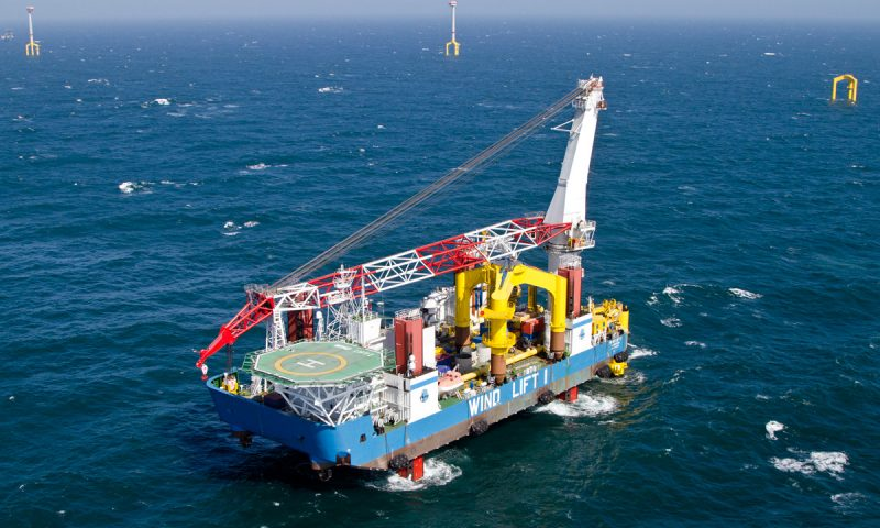 The Birth of SAL Renewables with Jack-up Vessel Wind Lift I