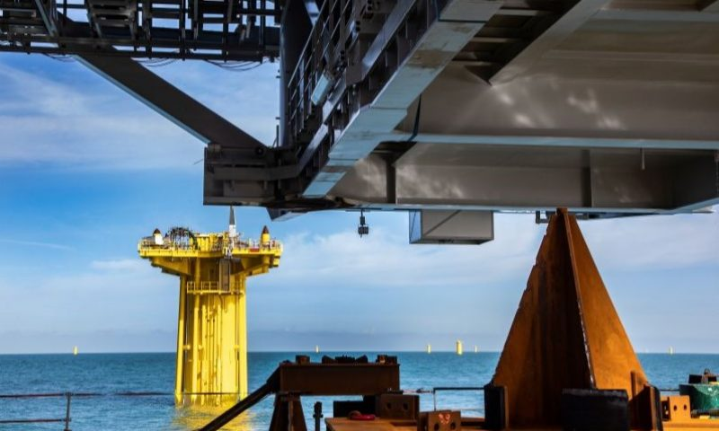 DEME Bags T&I Contract for Two Offshore Substations