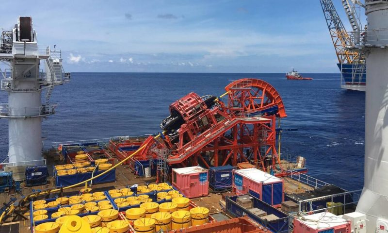 MDL Completes a SURF Lay Project Offshore China.