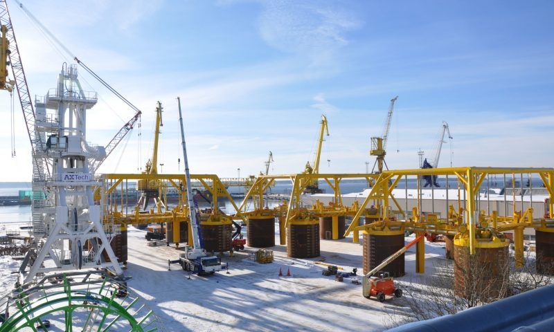 Marketex Offshore Constructions Prepares Project Equipment for Delivery