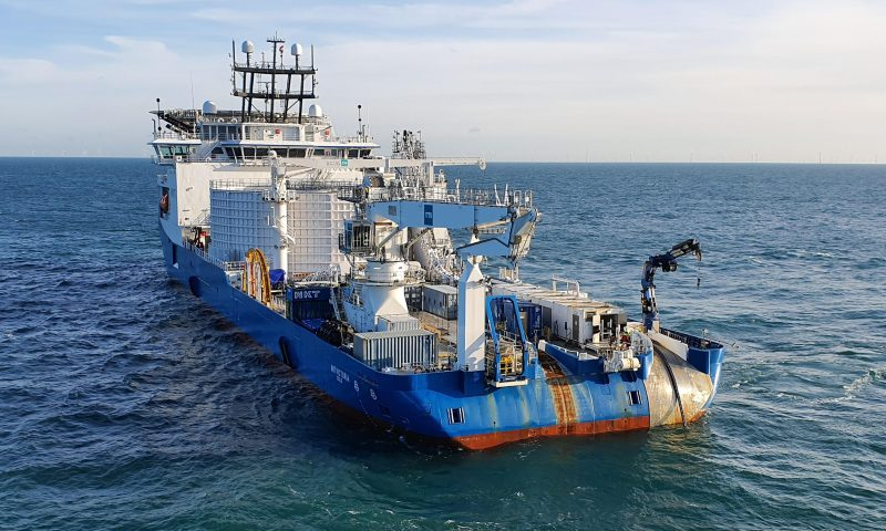 NKT Completes Offshore Repair Operation of the BritNed Interconnector