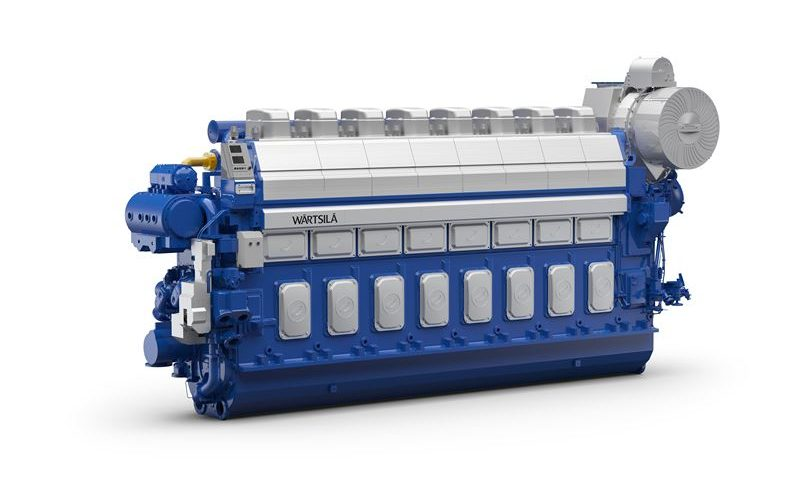 Wärtsilä Wins Major Order to Provide 36 Dual-Fuel Engines