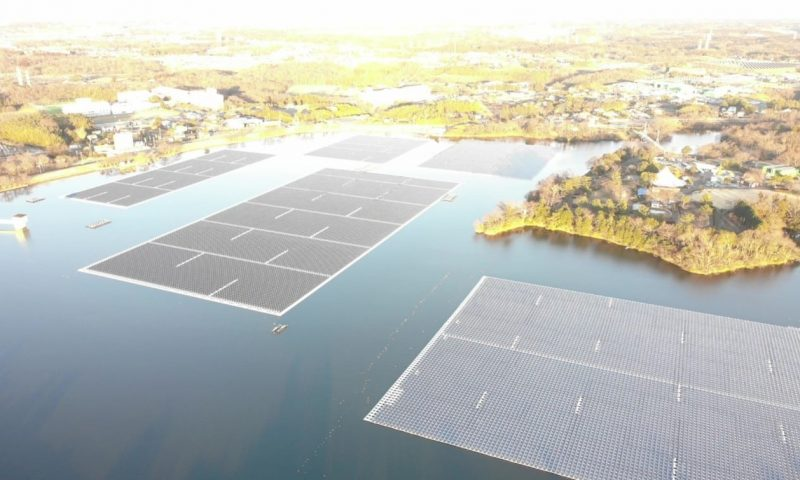 Ciel & Terre Successfully Executed the Rebuilding of Yamakura Floating PV Plant