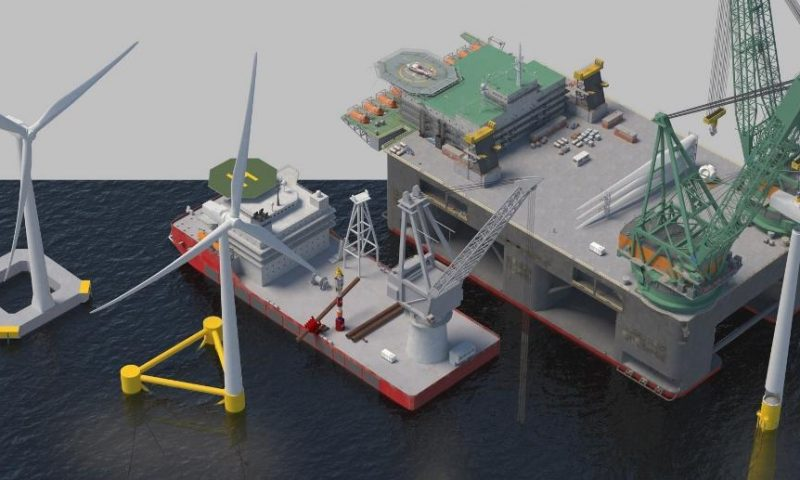 IHC IQIP Explores and Invests in Floating Wind Technologies