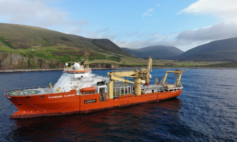 Global Marine Awarded 16-Cable R100 Project by BT