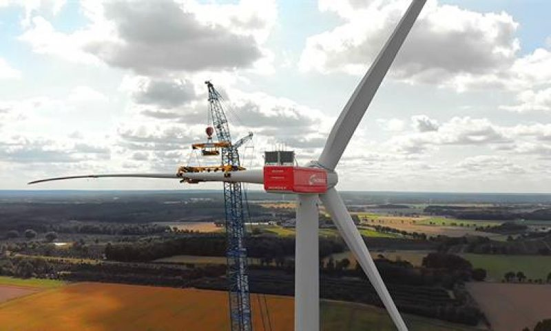 Global Wind Service Installed First Delta 4000 in the Netherlands
