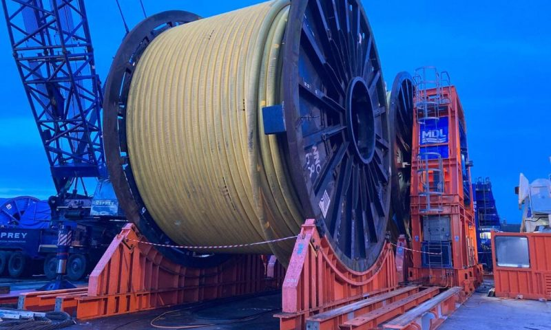 MDL Completed Transpooling of Flowlines for Indian Oil & Gas Operator