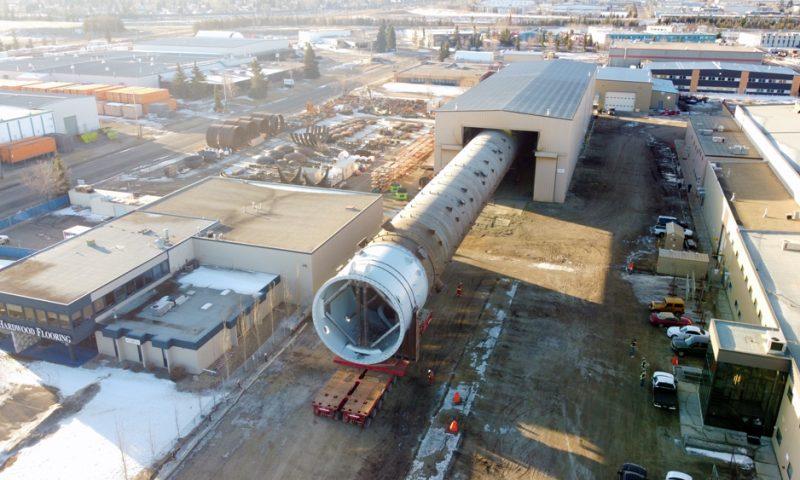 Mammoet SPMT Heavy Transport