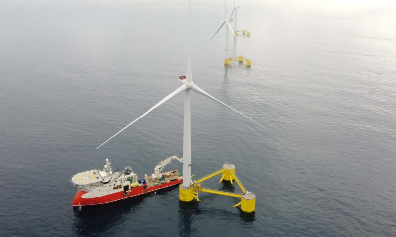 Ocean Winds Joins TERNA ENERGY for Floating Offshore Wind in Greece