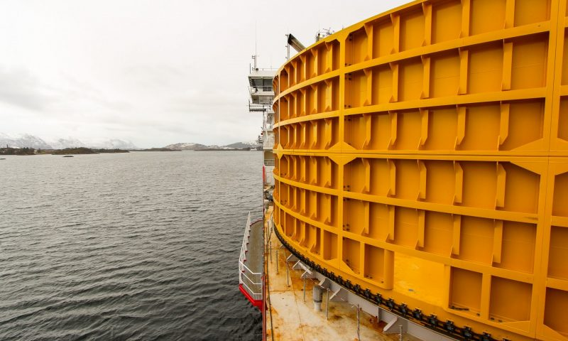 Cable Lay Vessel 'Nexans Aurora' has Recently Reached a New Milestone