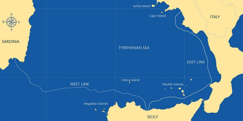Fugro Wins Survey Contract for Italy's Tyrrhenian Link Power Cable Project