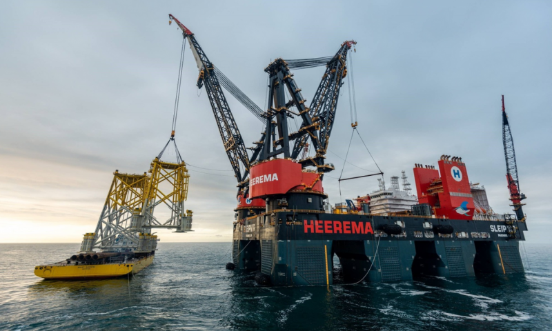 Heerema Bags Contract for Sofia Offshore Wind Farm