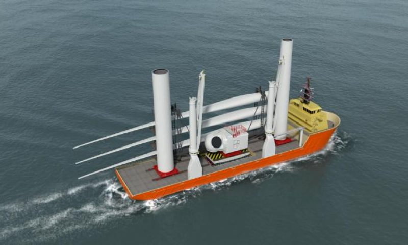Huisman Develops Jones Act Compliant Solution for Wind Turbine Components