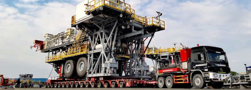 Mammoet to Deliver Two Onshore Oil Rigs from UAE to Oman