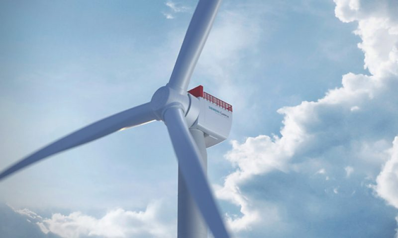 Siemens Gamesa Selected to deliver 100 flagship 14 MW turbines for Sofia OWF