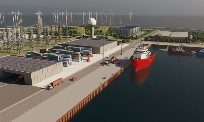 Ramboll to Support VindØ Consortium for World's First Artificial Energy Island
