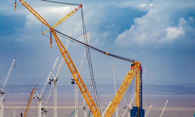 Sarens Big Carl Heavylift crane
