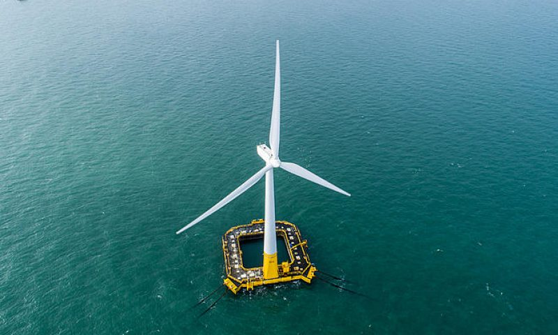 BW Ideol and Hitachi ABB Power Grids Announce Floating Wind Collaboration