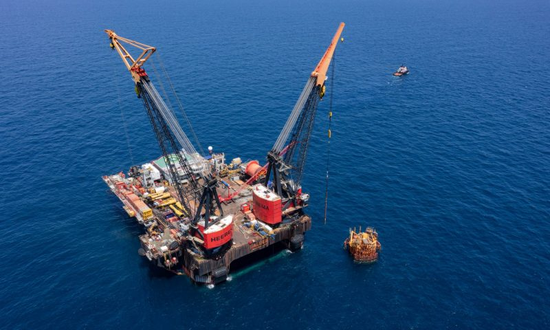 Heerema´s Balder Completes Removal of the Morpeth TLP
