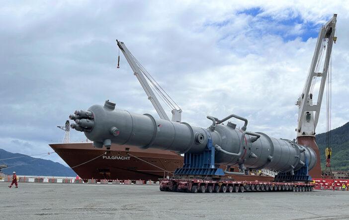 Mammoet-Haisla J.V. Successfully Reaches Next Milestone at LNG Canada